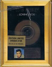 Presley, Elvis Loving You Limitierte Gold-CD Edition Neu OVP Sealed