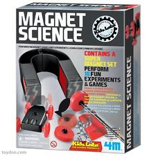 MAGNET SCIENCE - 10 FUN EXPERIMENTS KIDS SCIENCE & ACTIVITY KIT KIDZ LABS 4M