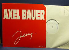 """MAXI 12"""" AXEL BAUER Jessy ( pochette rouge ) 2020156 TEST PRESSING"""