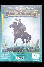 RAL PARTHA   AD&D FORGOTTEN REALMS, HEROES  #10-550  BOXED