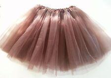 Women Adult Teen Organza Dancewear Tutu Ballet Pettiskirt Princess Party Skirt