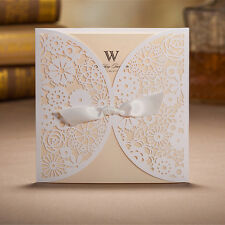 30 Personalized Wedding Invitation Cards With Envelopes, Seals, Custom Printing