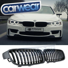 BMW F30 SEDAN 12- CARBON FIBER LOOK GRILLES F31 WAGON 316i 320i 328i 335i