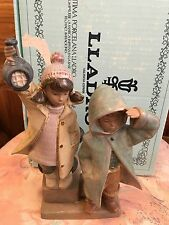 Lladro 2173 Ahoy There! Retired! Gres Finish! Mint condition! Original Blue Box!