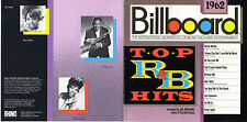 BILLBOARD TOP R&B HITS 1962.BOOKER T & MGS,CONTOURS.OOP FUNK SOUL RHINO CD