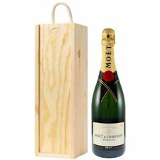 Moet and Chandon Brut Imperial Champagne in Wooden Gift Box NV 75 cl