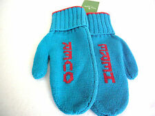 """Kate Spade New York """"Over HERE"""" Big Apple 100% merino wool mittens, one size"""