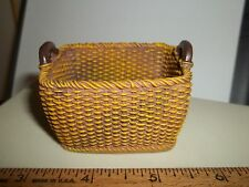 WONDERFUL LAUNDRY BASKET - RESIN - DOLL HOUSE MINIATURE - REUTTER PORCELAIN