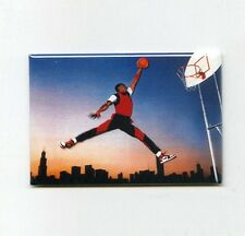 MICHAEL JORDAN - CHICAGO MINI POSTER FRIDGE MAGNET (nike air 3 4 5 6 7 8 1984)