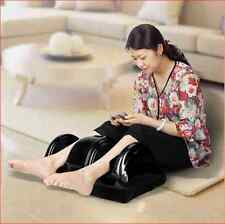 New Black Shiatsu Foot Massager Kneading and Rolling Leg Calf Ankle With Remote
