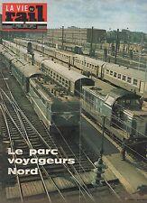 la vie du rail N°1458 du 15 septembre 1974 parc voyageurs nord