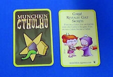 Munchkin Curse! Revealed Cult Secrets Promo Card SJG