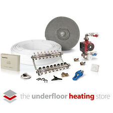 Water underfloor heating multiple room kit - 8 circuits