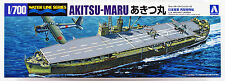 Aoshima Waterline 12291 IJA Aircraft Carrier Akitsu-Maru STD 1/700 scale kit