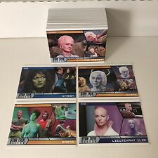 STAR TREK ALIENS: An All-New SUB-GENRE Trading Card Set Collection ALIENS ONLY!