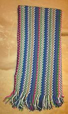 Missoni Geometric Wave Pattern HUGE Scarf Made In Italy FREE SHIPPING Couture