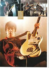 JOHNNY MARR (Smiths) page of pics magazine PHOTO/Poster/clipping 11x8 inches