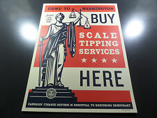 Shepard Fairey - Scale Tipping - Obey Giant - Signed and Numbered