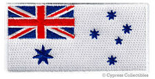 AUSTRALIA NAVY JACK FLAG PATCH embroidered iron-on AUSTRALIAN MILITARY NAVAL new