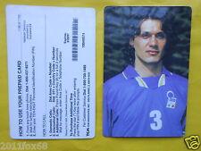 1997 phone cards italy paolo maldini italia milan telefoniche rare telefonkarten