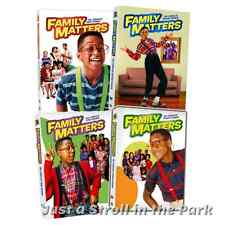Family Matters: TV Show Complete Seasons 1 2 3 4 DVD Boxed Sets Collection NEW!