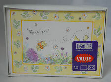 Heartline (A Division of Hallmark Cards) Thank you Cards Blank Inside #2B