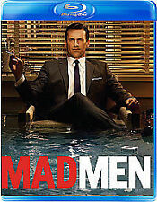 Mad Men Complete 3rd Season Blu-Ray Dvd Jon Hamm Brand New & Factory Sealed