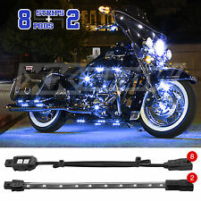 Motorcycle ATV Snowmobile Accent Light Kit 10 Pcs Accent All Included - BLUE
