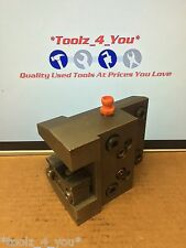 25mm  x 50mm Lathe Turning Holder For CNC Lathe Tool Turret Bolt Type