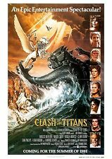 Clash of the Titans - Ray Harryhausen - A4 Laminated Mini Poster