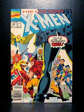 COMICS: Marvel: Uncanny X-Men #273 (1990s) - RARE (figure/wolverine/ms marvel)