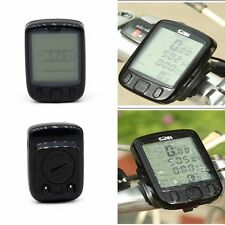 NEW EVORIDER DIGITAL BICYCLE CYCLE COMPUTER BIKE SPEEDO SPEEDOMETER + BACKLIGHT