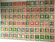 Pokemon cards Topsun 1995 / Lot of 150 complete set / Back all green / Japan