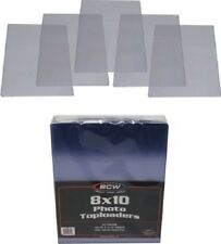 (5) BCW-TLCH-8X10 Clear Photograph Topload Holder Top Load Sleeves Display Photo