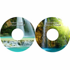 Natural Sounds Tropical & Paradise Waterfall CDs Stress Relief Relaxation Sleep