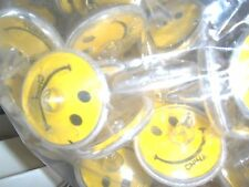 24 - Toy Smile face spin Top Birthday Party Carnival Favors   1 1/2 inch