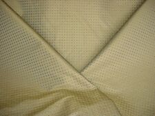 23y BRAVO THALES SHIMMER CHARTREUSE FAUX SILK CHECK DRAPERY UPHOLSTERY FABRIC