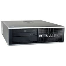 Computadora Hp Elite 8200 SFF Core i5 Quad Core 3.10GHz 250GB HD 4GB Win 7 Pro