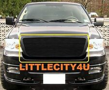 2004-2005 Ford F150 F-150 Black Color Billet Grille 1PC UPPER bolton