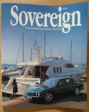JAGUAR SOVEREIGN orig 1997 International Magazine Brochure - Edition 21