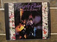 Prince Purple Rain 1984 Warner Bros Records Original Jewel CD