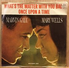 MARVIN GAYE MARY WELLS Motown 60s soul 45 What's The Matter With You Baby