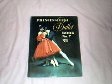 PRINCESS TINA BALLET BOOK No 7 - 1974 - GIRLS VINTAGE DANCE BOOK ANNUAL - VGC