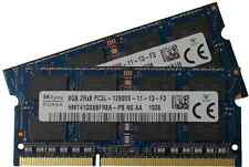 Hynix 16GB (2 x 8GB), DDR3 PC3L-12800, 1600MHz ram for 2011 and 2012 Mac mini's