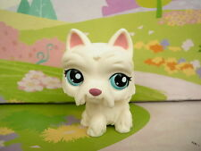 LITTLEST PET SHOP(1100)-White Scottie Dog #1598