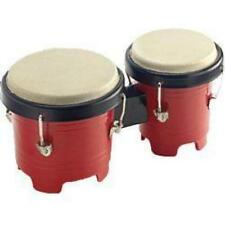 Stagg BOP05 Mini Plastic Bongo Drums Kids Percussion Music Toy Red Black New