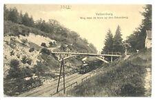NEDERLAND AK 1918  VALKENBURG - TREIN  LOCOMOTIEF SCHAESBERG  PR EX