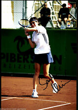 Sandra Kleinova TOP GF Orig. Sign. Tennis + G 5683