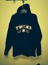 Wright & Ditson Makers Minnesota MN TWINS Mens Men's XL Pullover Hoodie Blue