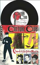 "Culture Club:Church Of The Poison Mind/Man Shake 7"" Vinyl Single:UK Hit"